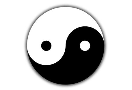 Знак Інь Янь у графічному редакторі Inkscape за 5 хвилин! - уроки малювання
