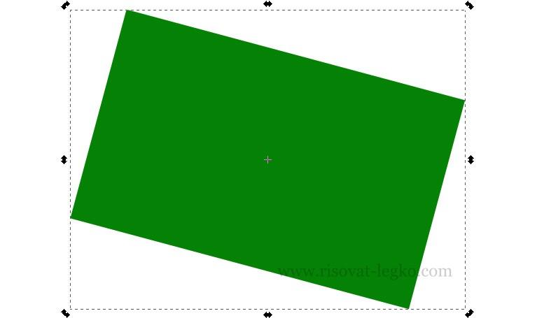 03.Inkscape уроки для начинающих - создание геометрических фигур