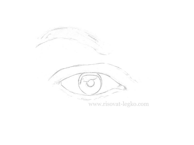 02.Зеркало души или как рисовать глаза карандашом
