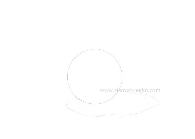 02.Как рисовать тени и объем на предметах карандашом