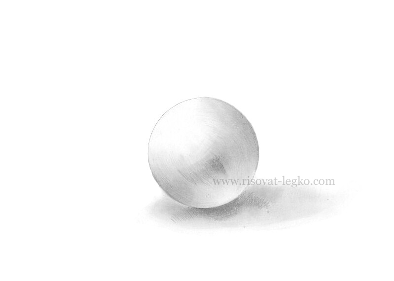 04.Как рисовать тени и объем на предметах карандашом