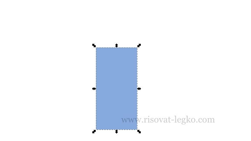 02.Легко рисовать стрелку в графическом редакторе Inkscape
