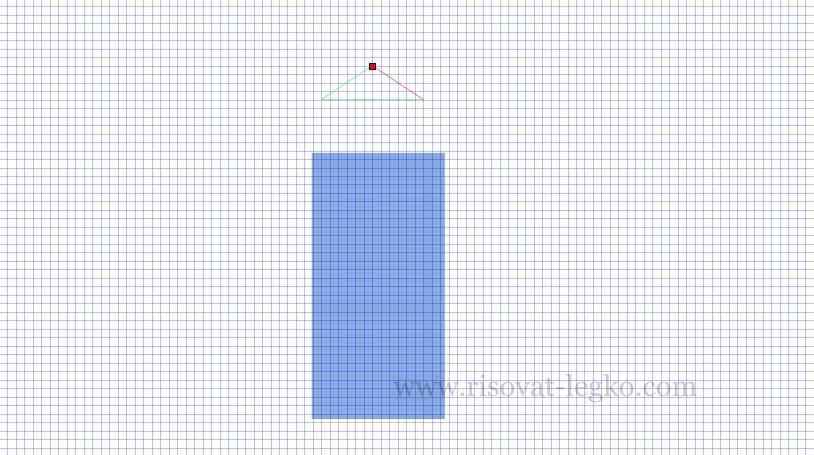03.Легко рисовать стрелку в графическом редакторе Inkscape