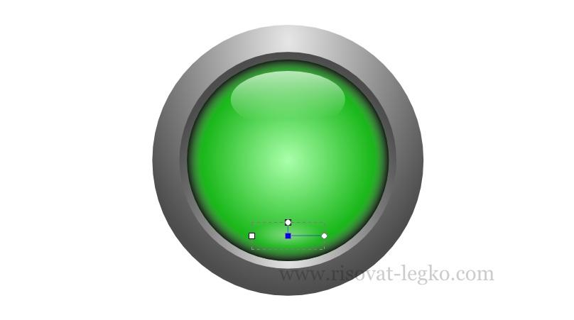 09.Рисуем кнопку в графическом редакторе Inkscape
