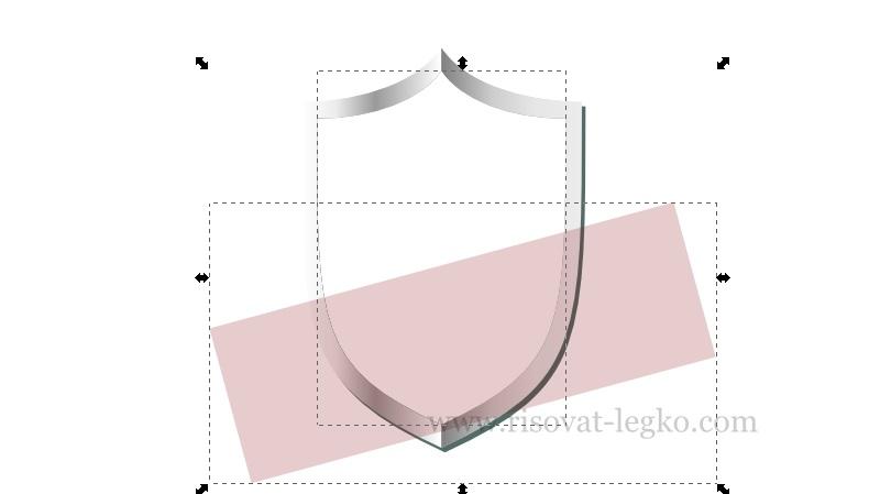 012.Inkscape уроки: рисуем щит в графическом редакторе