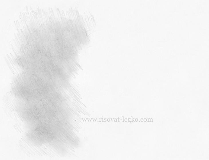 02.Как нарисовать волосы: рисуем завитые локоны