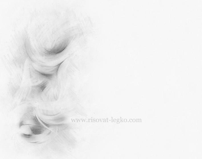 04.Как нарисовать волосы: рисуем завитые локоны