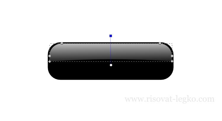06.Inkscape уроки: рисуем кнопку в стиле web 2.0