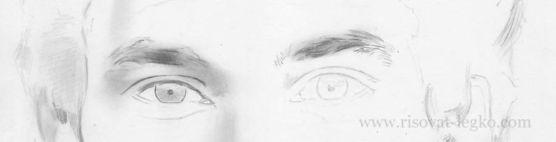 01.Как нарисовать портрет карандашом поэтапно: часть 3