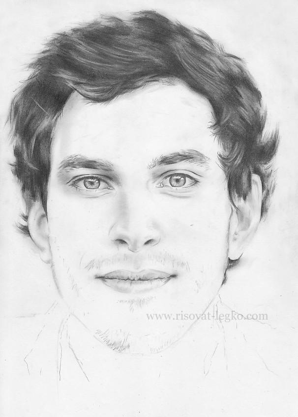 05.Как нарисовать портрет карандашом поэтапно: часть 4