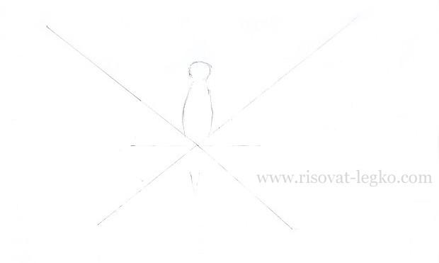 03.Как нарисовать бабочку поэтапно карандашом