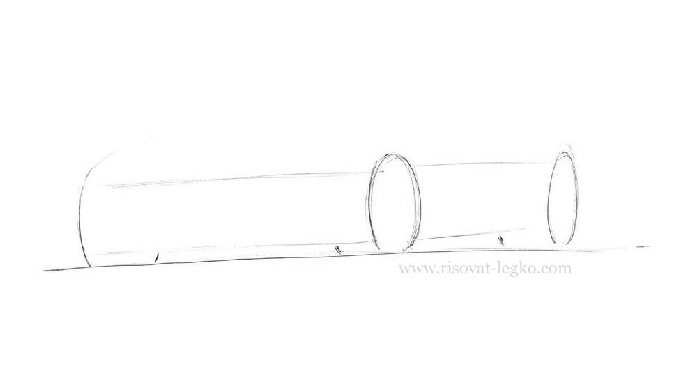 03.Как нарисовать машину поэтапно карандашом