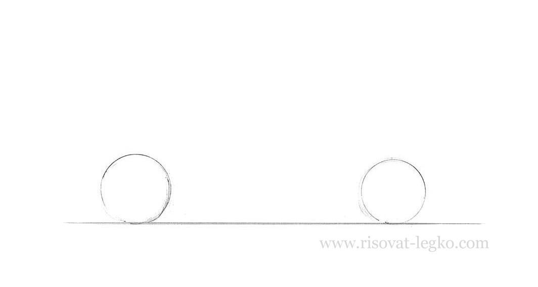 02.Как рисовать машину поэтапно карандашом