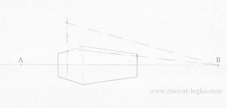 06.Как нарисовать дом поэтапно карандашом