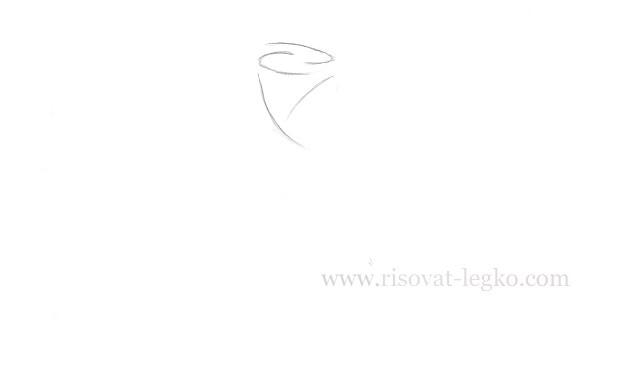 03.Как нарисовать розу поэтапно легко за 5 минут!