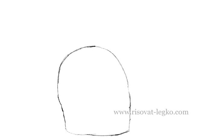 02.Как нарисовать кошку карандашом поэтапно
