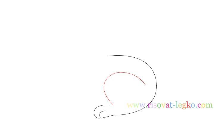 04.Как нарисовать кролика поэтапно для детей