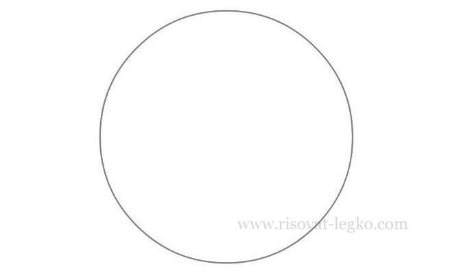 02.Как нарисовать мяч карандашом поэтапно легко