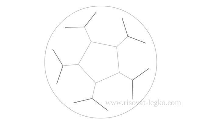 06.Как нарисовать мяч карандашом поэтапно легко