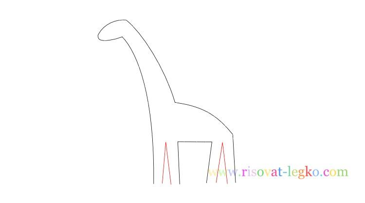 07.Как нарисовать жирафа поэтапно для детей