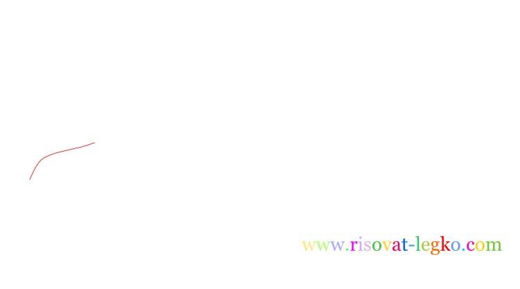 02.Рисование поэтапно для детей: рисуем динозавра