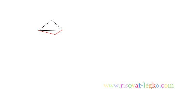 03.Уроки рисования для детей: рисуем красивую птицу