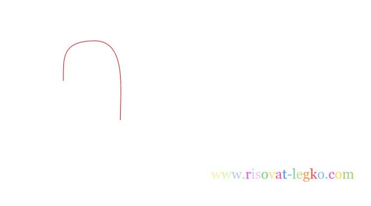 02.Поэтапное рисование для детей: рисуем черепаху