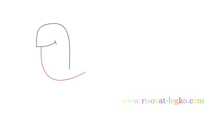 04.Поэтапное рисование для детей: рисуем черепаху