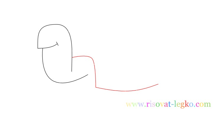 05.Поэтапное рисование для детей: рисуем черепаху