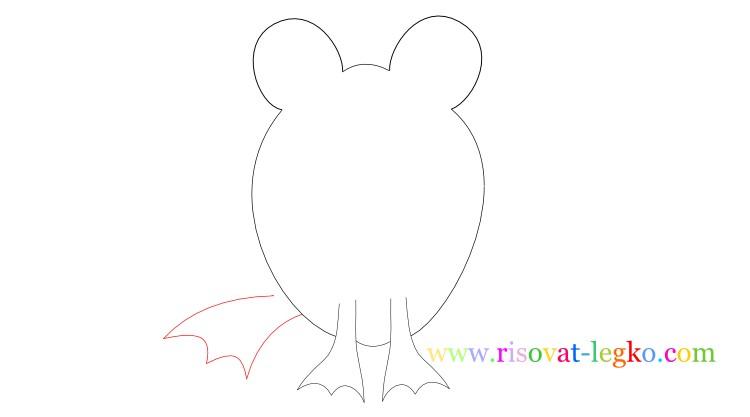 06.Рисование для детей: нарисуем веселую лягушку