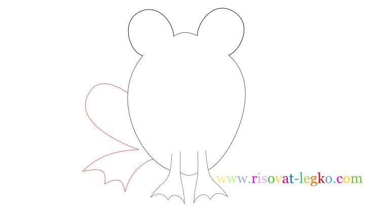 07.Рисование для детей: нарисуем веселую лягушку