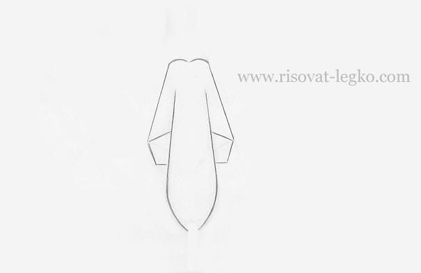 05.Как нарисовать самолет военный карандашом