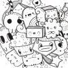 12.Дудлинг монстрики doodle monsters
