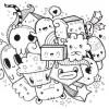 15.Дудлинг монстрики doodle monsters