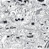 16.Дудлинг монстрики doodle monsters