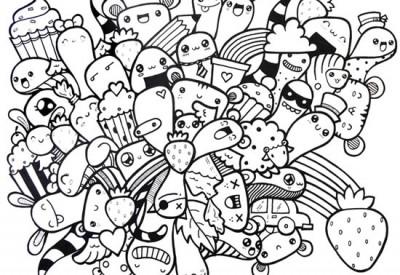 02.Дудлинг монстрики doodle monsters