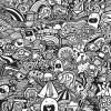 06.Дудлинг монстрики doodle monsters