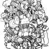08.Дудлинг монстрики doodle monsters