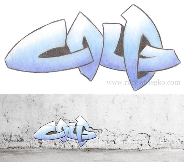 01.Граффити для начинающих: рисовать граффити легко