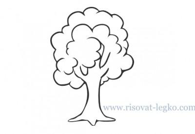01.Как нарисовать дерево для начинающих
