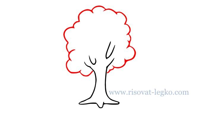 04.Как нарисовать дерево для начинающих