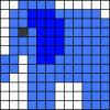 32.Как нарисовать легкие рисунки по клеточкам
