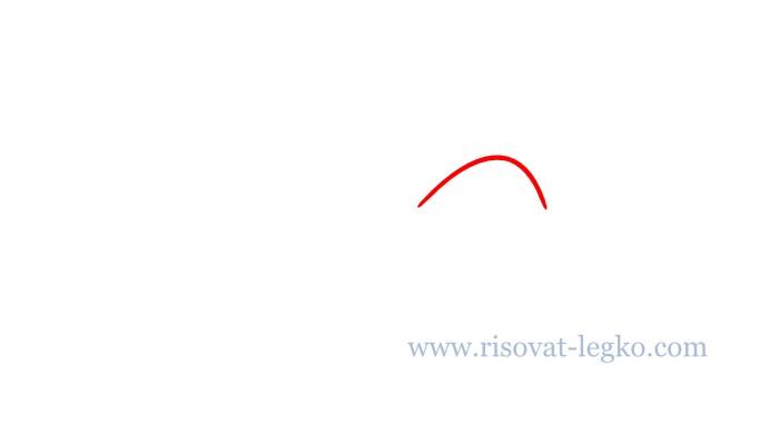 02.Как нарисовать поэтапно птицу для начинающих