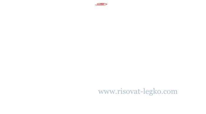 02.Как нарисовать розу карандашом