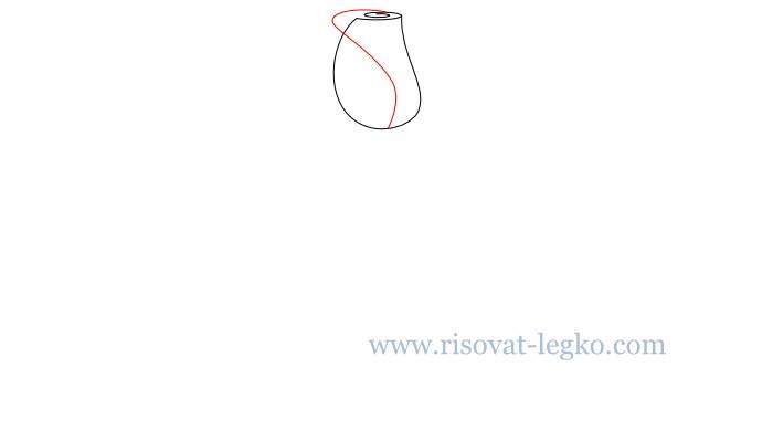 04.Как нарисовать розу карандашом
