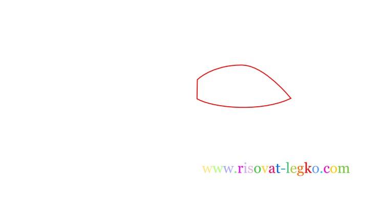 02.Как нарисовать самолет поэтапно для детей