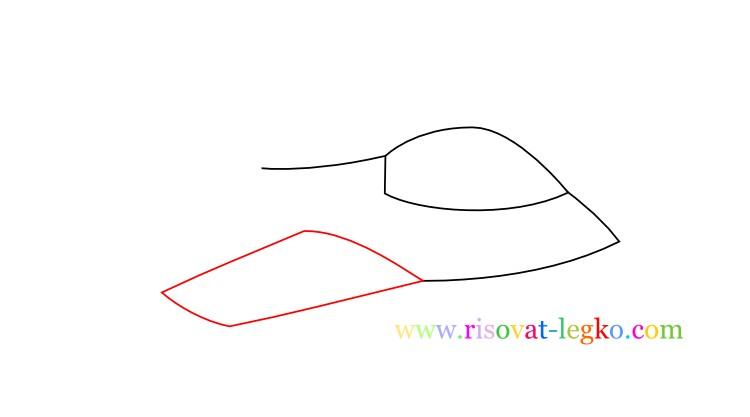 05.Как нарисовать самолет поэтапно для детей