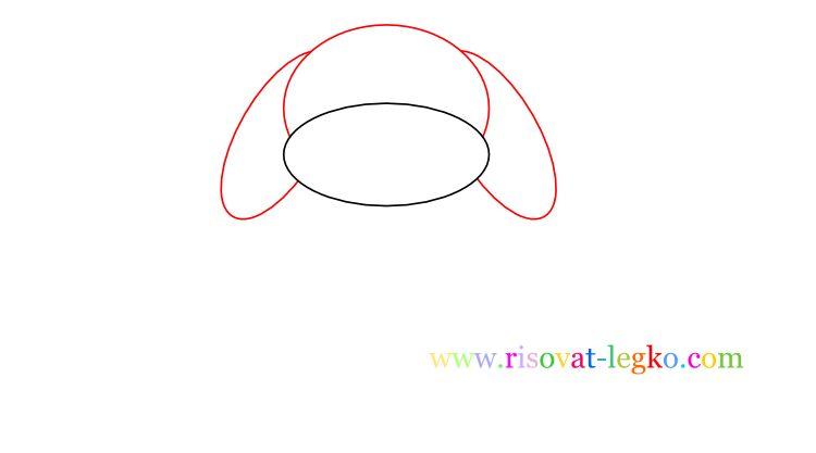 03.Как нарисовать собаку для детей карандашом