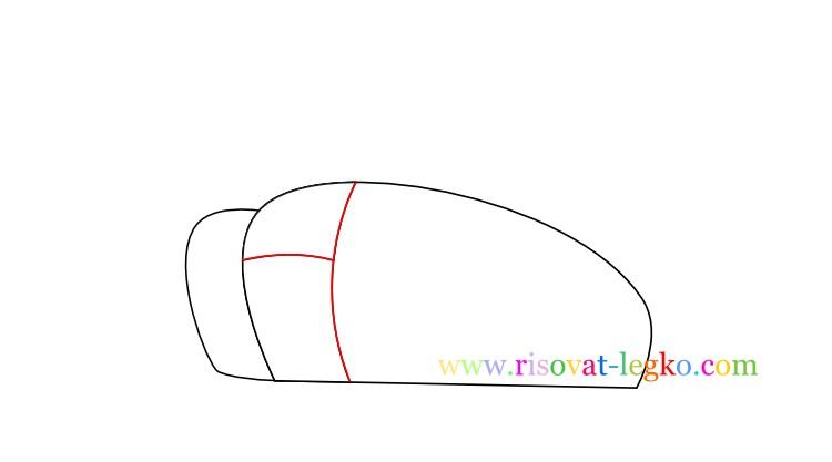 04.Как нарисовать танк поэтапно для детей