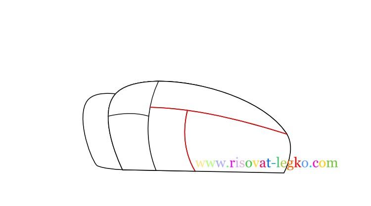 05.Как нарисовать танк поэтапно для детей